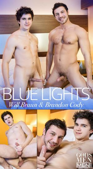 Men.com – Blue Lights – Brandon Cody fucks Will Braun – GodsofMen