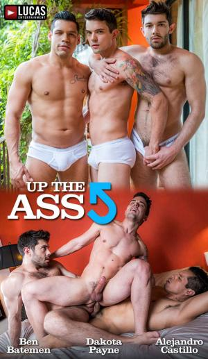 LucasEntertainment – Up The Ass – Ben Batemen & Alejandro Castillo double penetrate Dakota Payne – Bareback