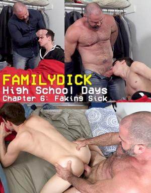 FamilyDick – High School Days – Chapter 6: Faking Sick – John Smith (Stepdad) & Mark Smith (Stepson)