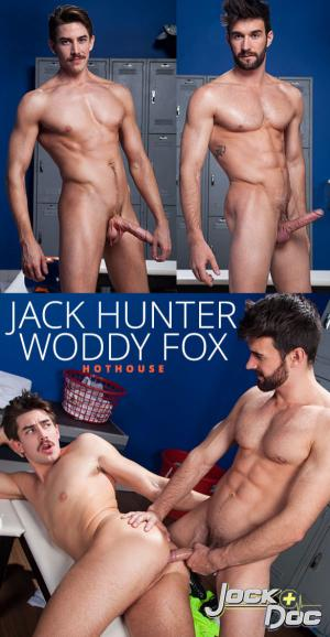 HotHouse – Jock Doc – Woody Fox bangs Jack Hunter