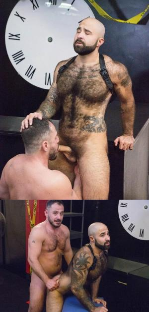HairyAndRaw – Marc Giacomo & Atlas Grant – On The House – Bareback
