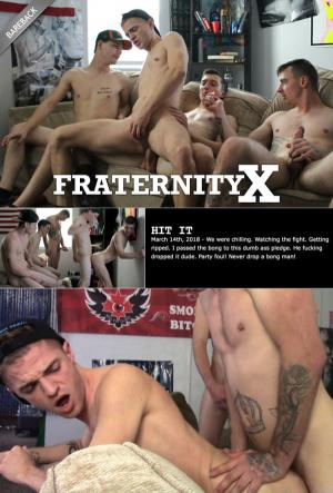 FraternityX – Hit It – Ethan Cook, Micky Jr, Timothy Drake, Charlie, Kris & Cowboy – Bareback
