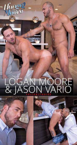 FalconStudios – Hungry for Moore – Logan Moore bottoms for Jason Vario