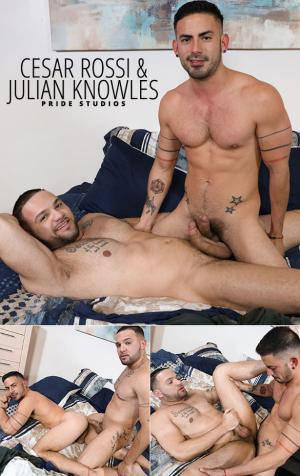 PrideStudios – Fourth Year Lovers – Cesar Rossi & Julian Knowles flip fuck