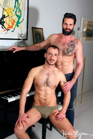 KristenBjorn – The Pianist – Dani Robles & Ely Chaim – Bareback