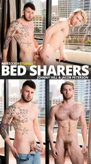 NextDoorRaw – Bed Sharers – Johnny Hill barebacks Jacob Peterson