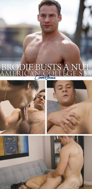 CorbinFisher – Brodie Busts A Nut