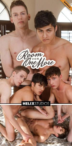 HelixStudios – Room For One More – Kevin Daley & Cameron Parks Fuck Angel Rivera – Bareback