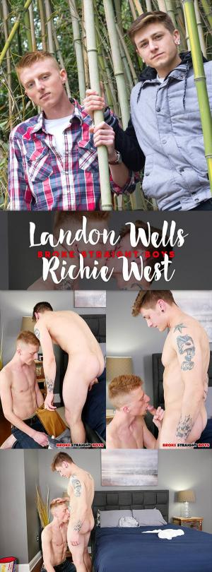BrokeStraightBoys – Landon Wells Fucks Richie West Bareback