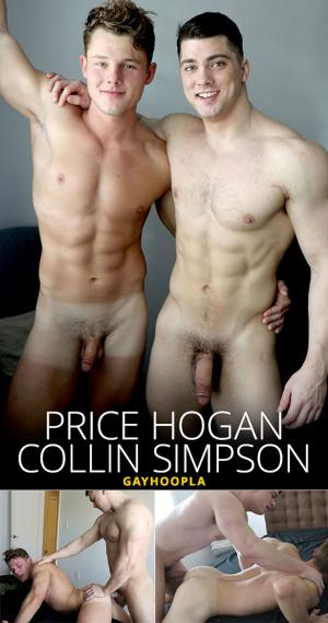 GayHoopla – Price Hogan loses anal virginity to Collin Simpson