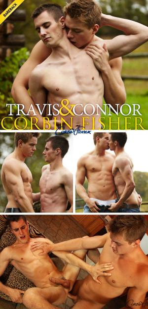 CorbinFisher – Travis Gets Plowed By Connor – Bareback