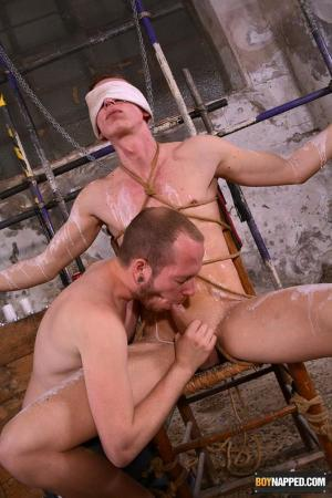 BoyNapped – Blindfolded Boner Slurping – Billy Rock & Sean Taylor
