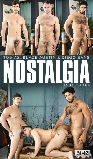 Men.com – Nostalgia Part 3 – Tobias & Diego Sans tag team Blaze Austin – DrillMyHole