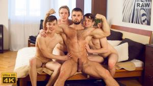WilliamHiggins – Wank Party #96, Part 1 RAW – Franta Tucny, Karel Opec, Karel Polak & Leo Lombar
