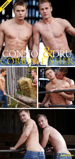CorbinFisher – Ropes Of Cum – Dru & Connor Flip-Fuck – Bareback