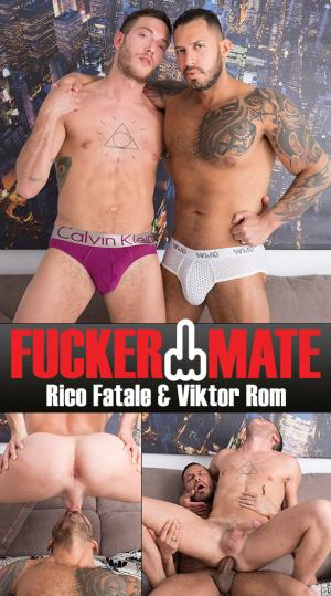 Fuckermate – Lost and Fucked – Viktor Rom barebacks Rico Fatale