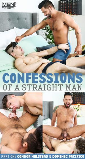 Men.com – Confessions of a Straight Man, Part 1 – Connor Halstead fucks Dominic Pacifico – Str8toGay