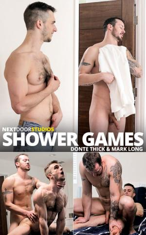 NextDoorRaw – Shower Games – Mark Long & Donte Thick fuck each other raw