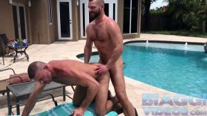 BiaggiVideos – Clayand Jake Pool Fuck