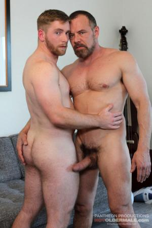 HotOlderMale – Swallowing Daddy – Max Sargent & Scott Riley – Bareback