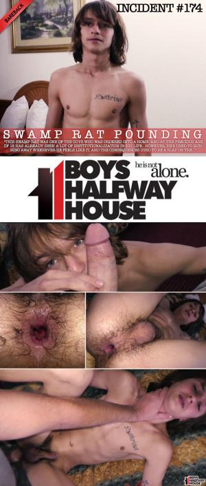 BoysHalfwayHouse – Incident #174 – Swamp Rat Pounding – Mac Dawson – Bareback