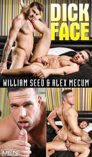 Men.com – Dick Face – William Seed fucks Alex Mecum – DrillMyHole
