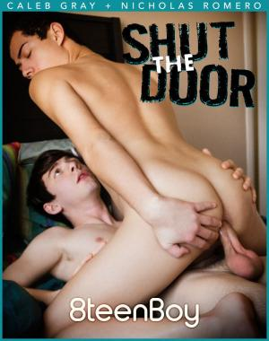 Helixstudios – Shut the Door – Caleb Gray Fucks Nicholas Romero – Bareback – 8TeenBoy