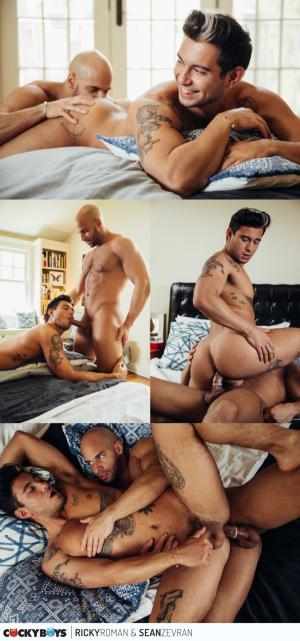 CockyBoys – The Sparks Fly With Ricky Roman & Sean Zevran