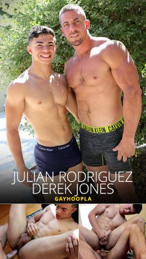 GayHoopla – Julian Rodriguez bottoms for Derek Jones