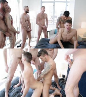 RawFuckClub – Dakota Wolfe Gang Bang – Part 1 – Dakota Wolfe, Jake Morgan, Seth Knight, Ryan Powers, Sam Bridle & Billy Warren – Bareback