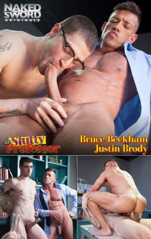 NakedSword – The Slutty Professor, Episode 2: I'm a Really Nice Guy – Justin Brody fucks Bruce Beckham