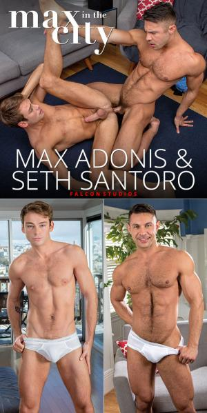 FalconStudios – Max in the City – Max Adonis & Seth Santoro flip fuck