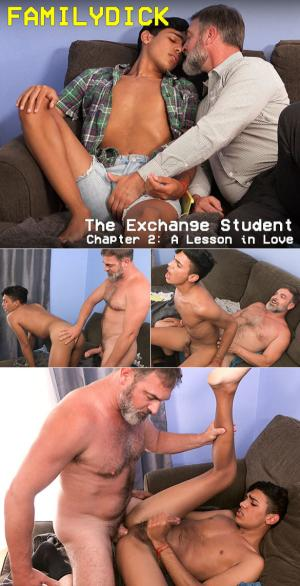 FamilyDick – The Exchange Student – Chapter 2: A Lesson in Love – Bareback