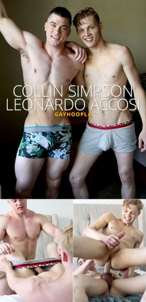 GayHoopla – Collin Simpson fucks Leonardo Accosi's virgin ass