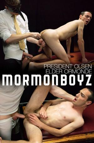MormonBoyz – The Sacrament – President Olsen fucks Elder Ormonde raw