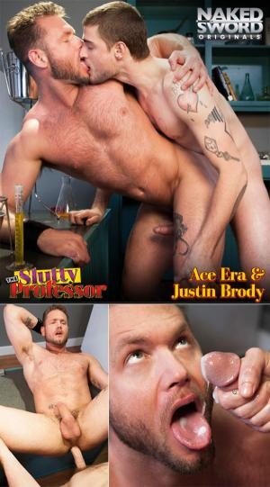 NakedSword – The Slutty Professor, Episode 4: Lust to Love 101 – Justin Brody fucks Ace Era