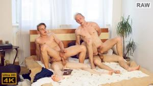 WilliamHiggins – Wank Party #97, Part 2 RAW – Bozek Kolek, Karel Omanak, Karel Opec & Kristof Trnka