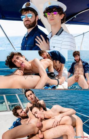FrenchTwinks – Sea Sex and Sun Episode 1 – Doryann Marguet, Paul Delay & Erwan Lamour