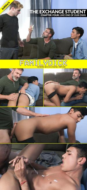 FamilyDick – The Exchange Student: Like One Of Our Own – Bareback