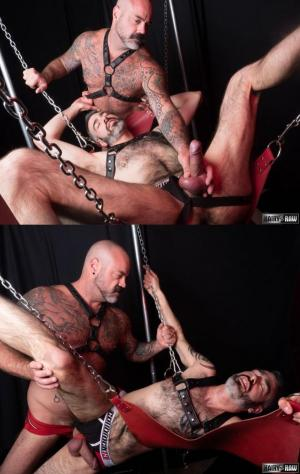HairyandRaw – Strapped – Scotty Rage & Rex Hunter – Bareback