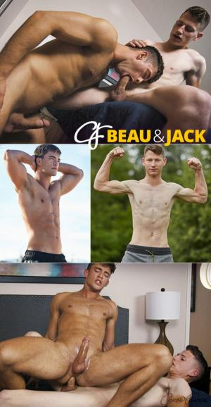 CorbinFisher – Beau cums hands-free getting fucked raw by Jack
