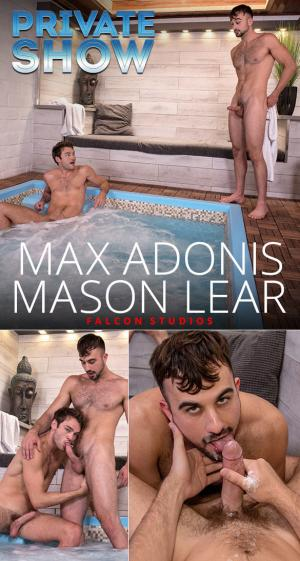 FalconStudios – Private Show – Max Adonis & Mason Lear suck each other off