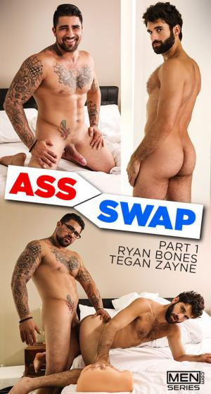Men.com – Ass Swap, Part 1 – Ryan Bones fucks Tegan Zayne – Str8toGay