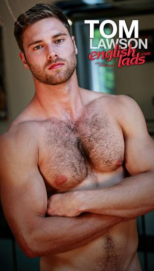 EnglishLads – Straight Young Rugby Hunk Tom Shows us his Hairy Body & Big Uncut Cock – Tom Lawson