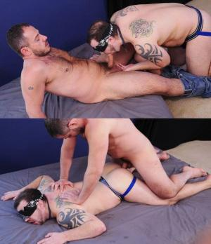 BreedMeRaw – Marc Giacomo & Chip Young – bareback
