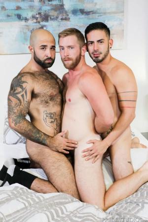 MenOver30 – Big Bear Surprise – Scott Riley, Cesar Rossi & Atlas Grant – Bareback