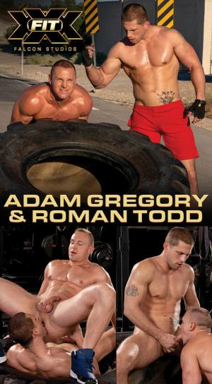 FalconStudios – XXX-Fit – Roman Todd & Adam Gregory service each other