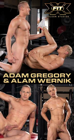 FalconStudios – XXX-Fit – Adam Gregory bangs Alam Wernik