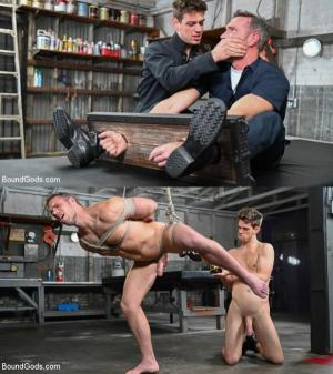 BoundGods – My Brother's Discipline – Michael DelRay Punishes Step-Bro Alex Mecum